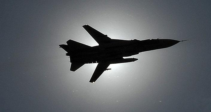 Bombardero táctico ruso Su-24