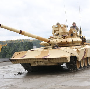 Tanque ruso T-72