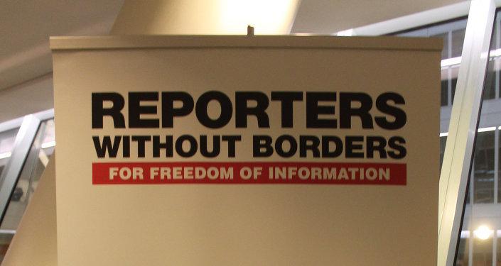 Se desploma la libertad de prensa, alertan Reporteros Sin Fronteras