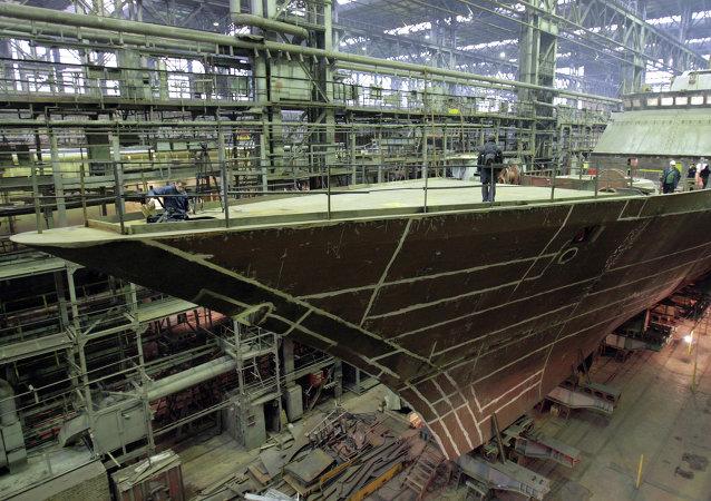 Empresa rusa de construcciones navales Severnaya Verf