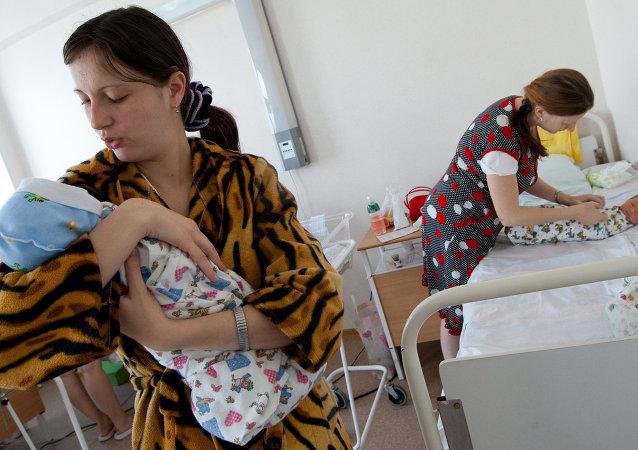 La tasa de natalidad crece un 34% en Rusia en los últimos ocho años