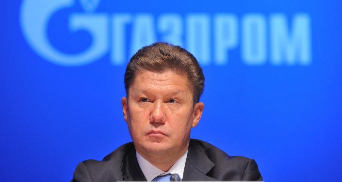 Alexéi Miller, jefe de Gazprom