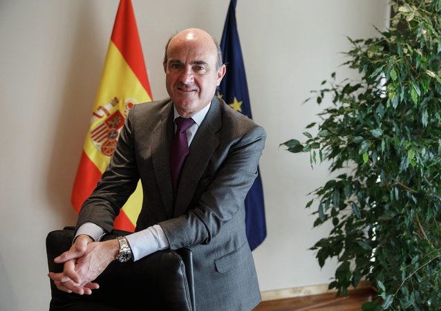 Luis de Guindos, ministro de Economía de España (archivo)