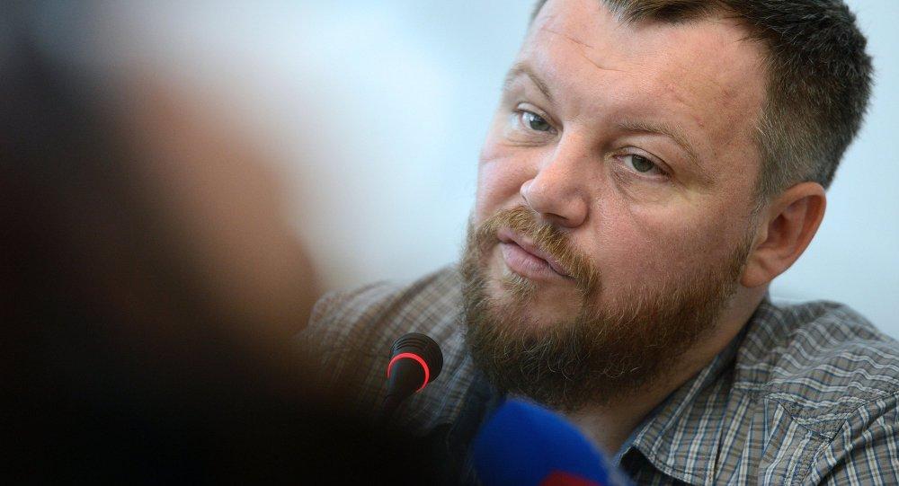Andréi Purguín, jefe del Parlamento de la autoproclamada República Popular de Donetsk