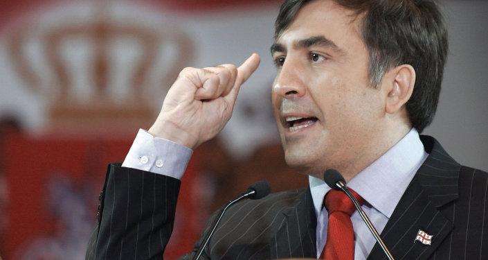 Mijaíl Saakashvili, exmandatario de Georgia