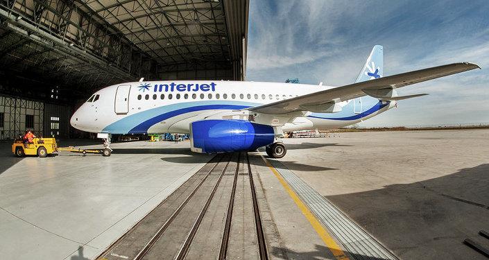 Sukhoi Superjet-100 de Interjet
