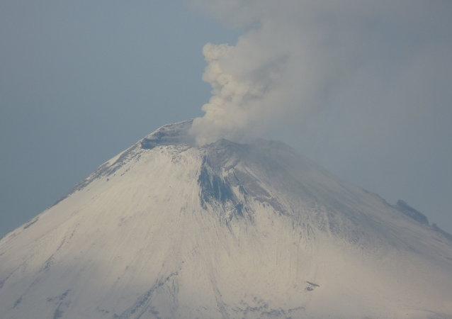 Сráter del Popocatépetl