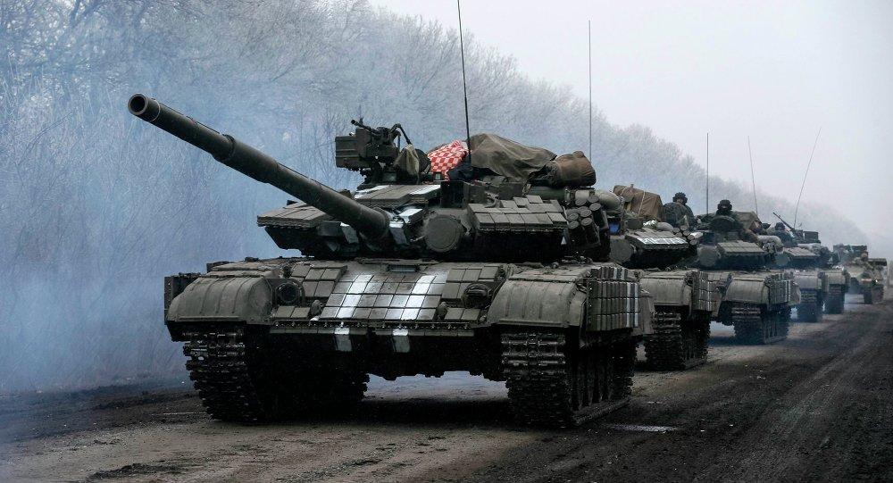 Kiev dice que no está preparado para retirar armas pesadas de la línea de demarcación