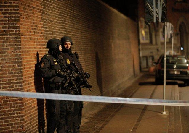 Policías en Copenhague (archivo)