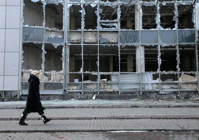 Situación en Donetsk, 15 de febrero 2015