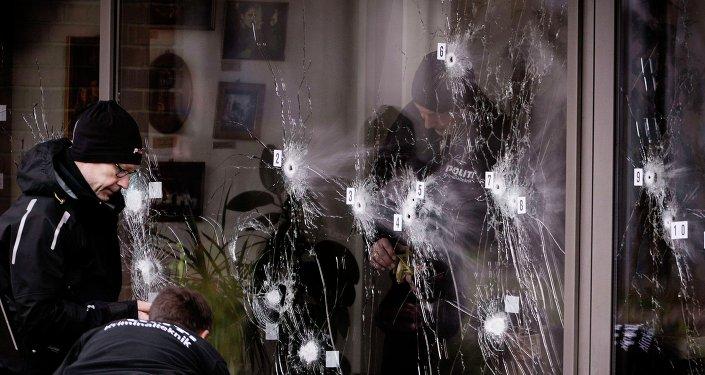 El hallazgo de una carta en el lugar del tiroteo dispara la alarma en Copenhague