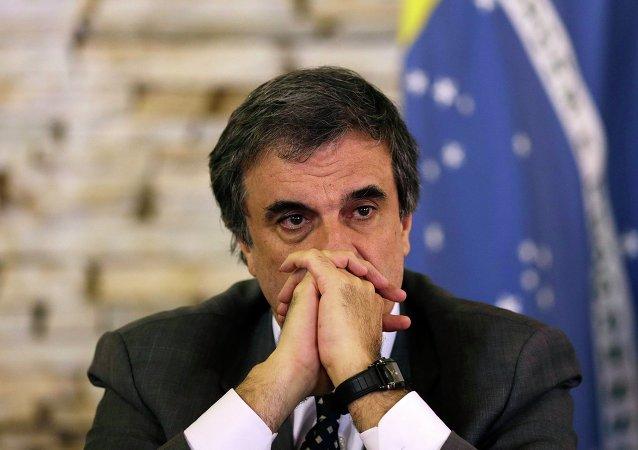 José Eduardo Cardozo, ministro de Justicia de Brazil