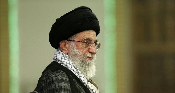 Líder supremo de Irán, el ayatolá Alí Jameneí
