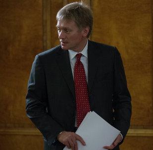 Dmitri Peskov, portavoz de Vladímir Putin