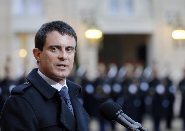Manuel Valls, primer ministro de Francia,