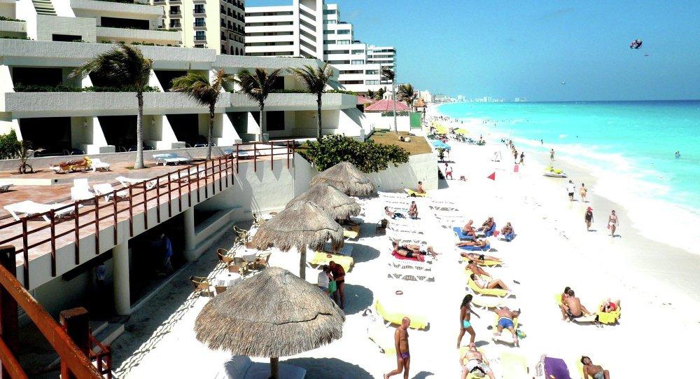Ciudad turístico Cancun en México