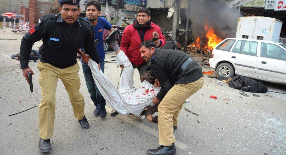 Al menos ocho muertos en un atentado en el este de Pakistán