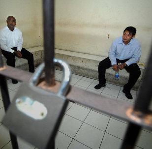 Myuran Sukumaran y Andrew Chan, australianos condenados a pena de muerte por tráfico de drogas (archivo)