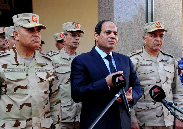 Abdelfatah al Sisi, presidente de Egipto