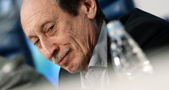 Valentín Balakhnichev, presidente de la Federación de Atletismo de Rusia (ARAF)