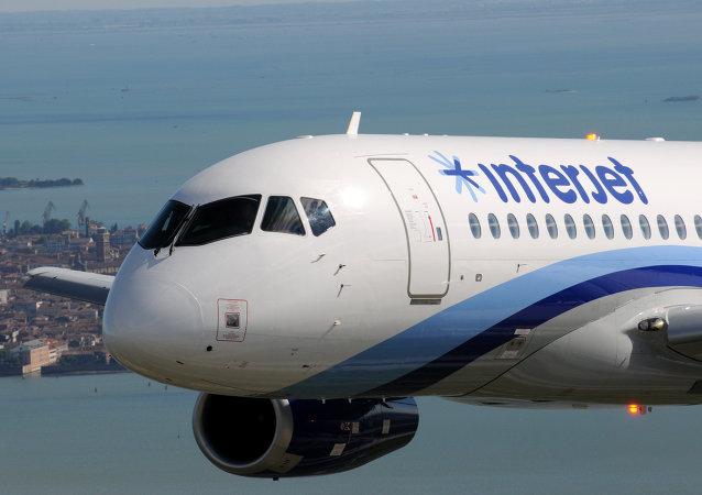Un SSJ-100 para la aerolínea mexicana Interjet