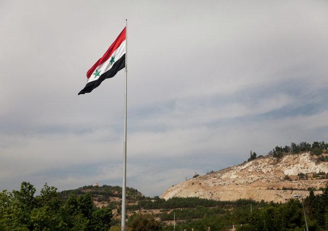 La bandera de Siria (archivo)