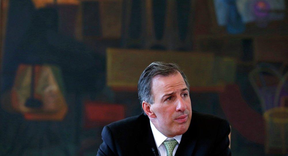 José Antonio Meade, secretario de Relaciones Exteriores de México
