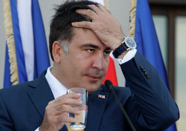 Mijaíl Saakashvili, el expresidente de Georgia