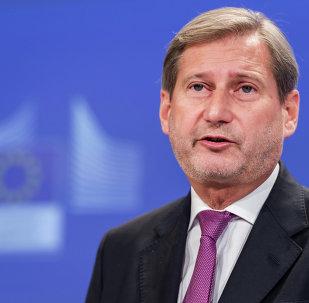 Johannes Hahn, comisario europeo de Política de Vecindad y para la Ampliación