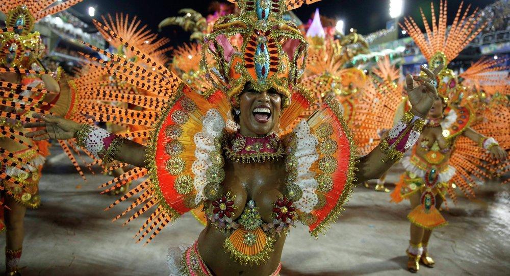 La escuela patrocinada por Obiang campeona del Carnaval de Río de Janeiro