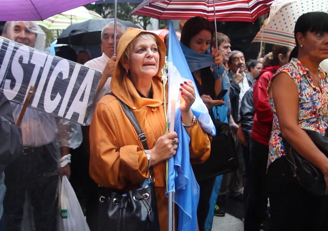 Multitudinaria Marcha del Silencio por fiscal Nisman