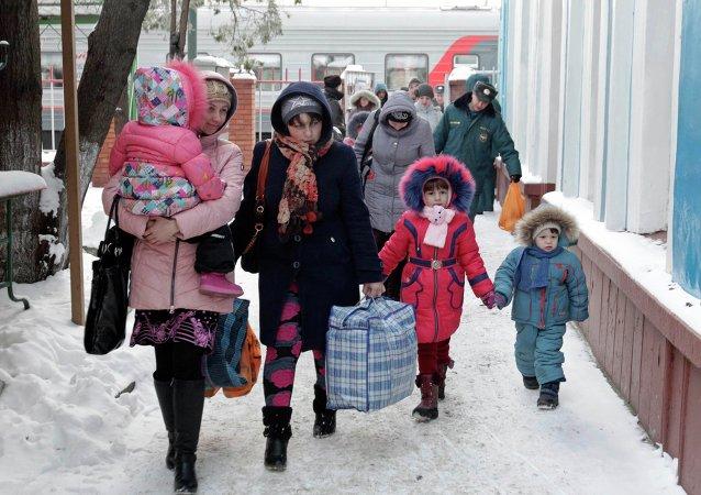 Refugiados de Ucrania