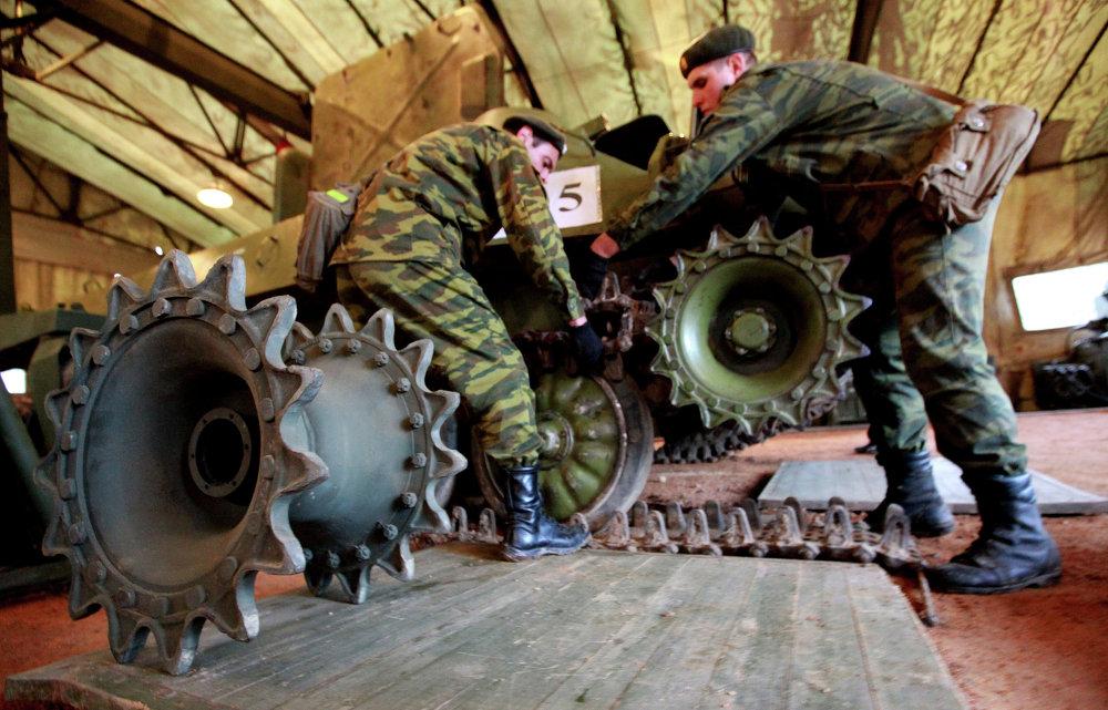 Maniobras del sistema de abastecimiento de la circunscripción militar Este