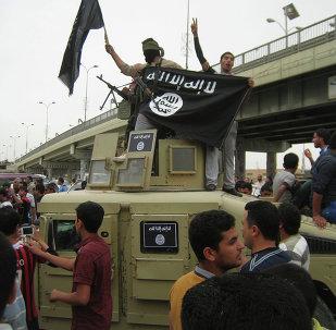 Miembros del grupo Estado Islámico
