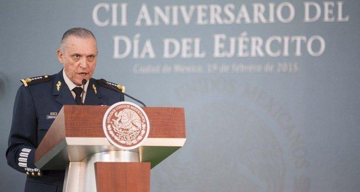 General Salvador Cienfuegos, secretario de la Defensa Nacional