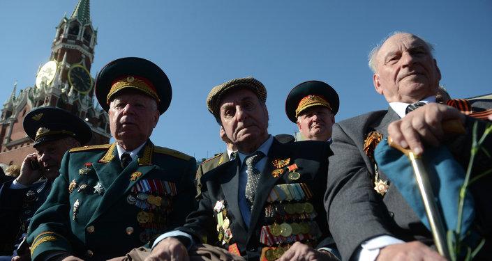 Veteranos de la Gran Guerra Patria
