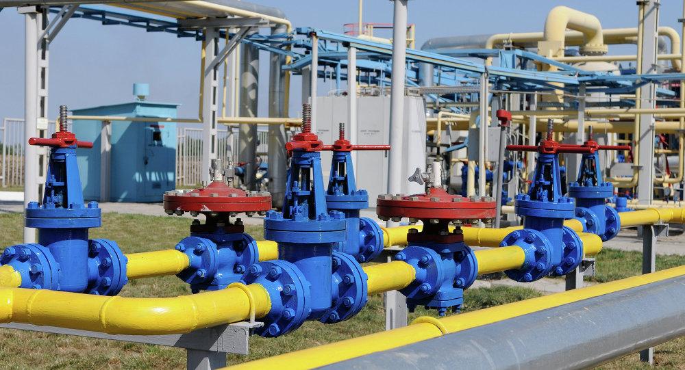 Una planta gasística en Ucrania (Archivo)