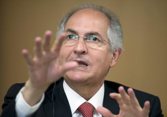 Antonio Ledezma, exalcalde de Caracas