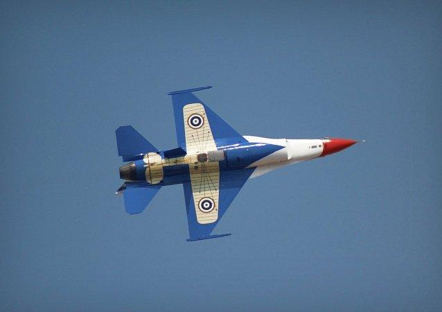 Caza F-16 tailandés
