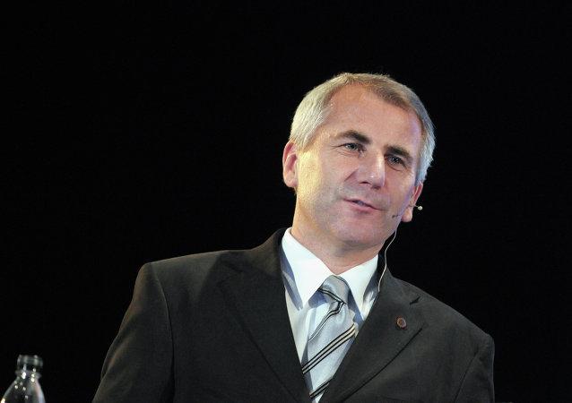 Vygaudas Usackas, jefe de la representación de la UE en la Federación Rusa