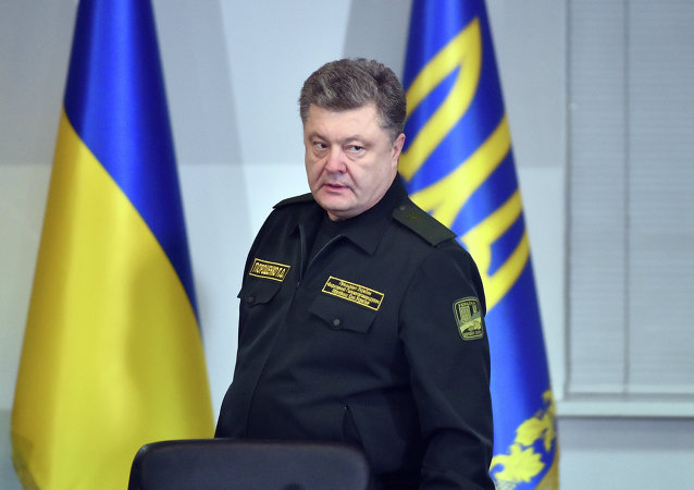 Petró Poroshenko, presidente de Ucrania,