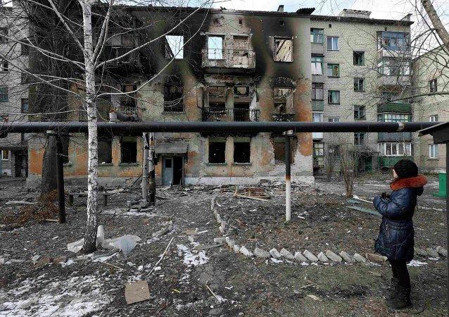 Situación en Debáltsevo