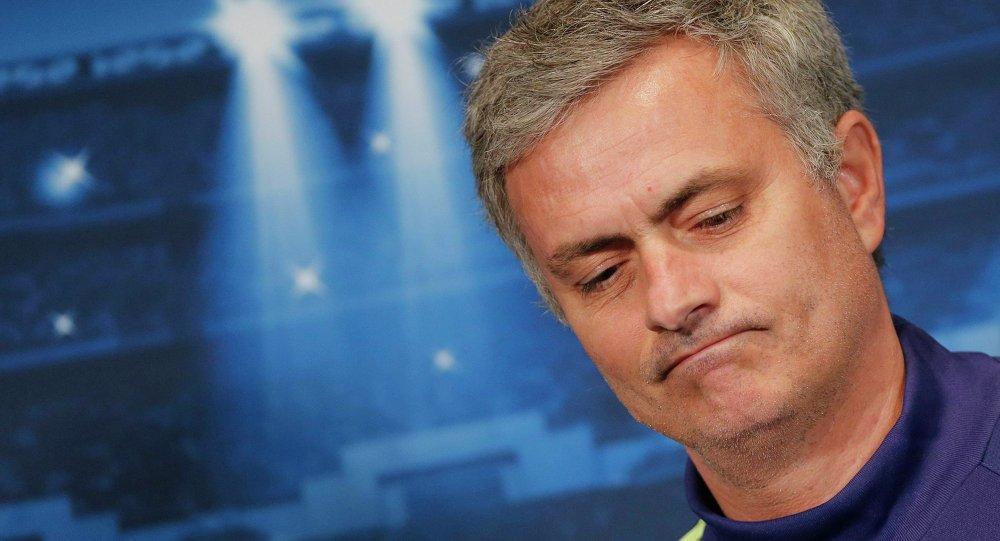 José Mourinho, entrenador del Manchester United (archivo)