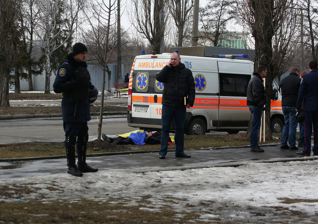 Al menos dos personas murieron en un atentado durante una manifestación pro-Maidán en Járkov
