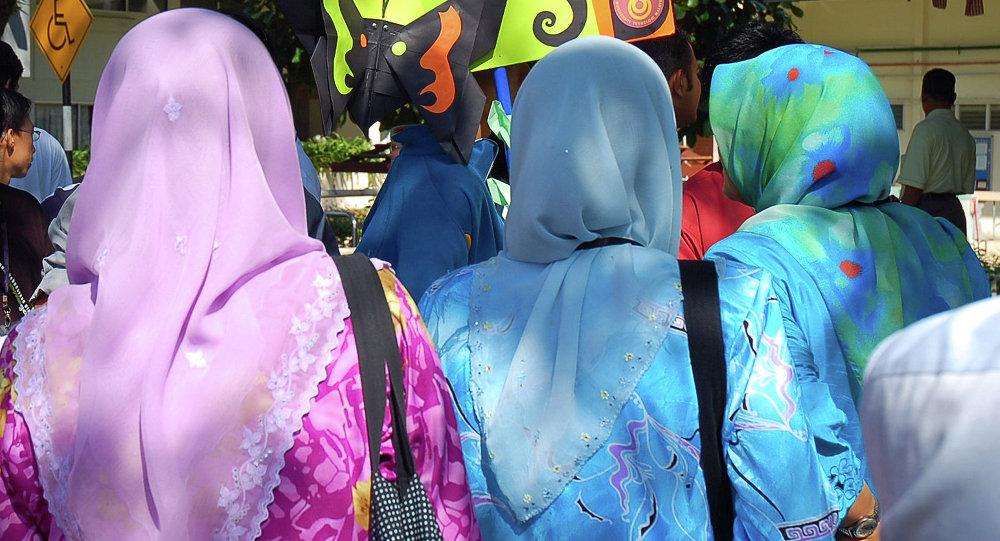 Niñas malasias