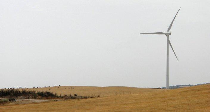 Aerogenerador en España