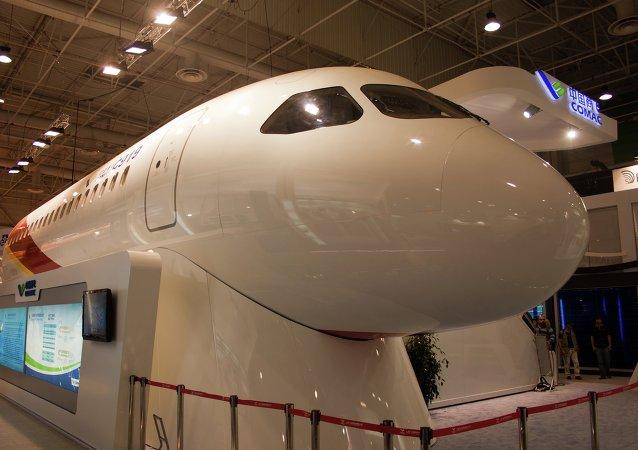 COMAC C919 es un proyecto de avión de pasajeros de medio alcance en desarrollo por la empresa china COMAC