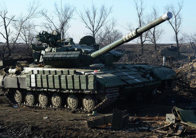 Material bélico roto del ejército ucraniano, Debáltsevo