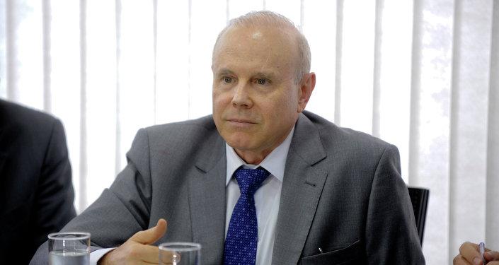 Guido Mantega, ministro de Hacienda del gobierno de Brasil