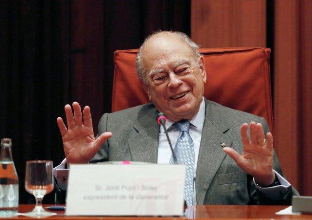Jordi Pujol, expresidente catalán